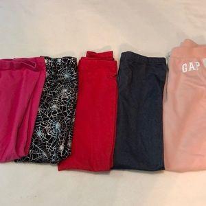 Girls leggings & sweatpants bundle